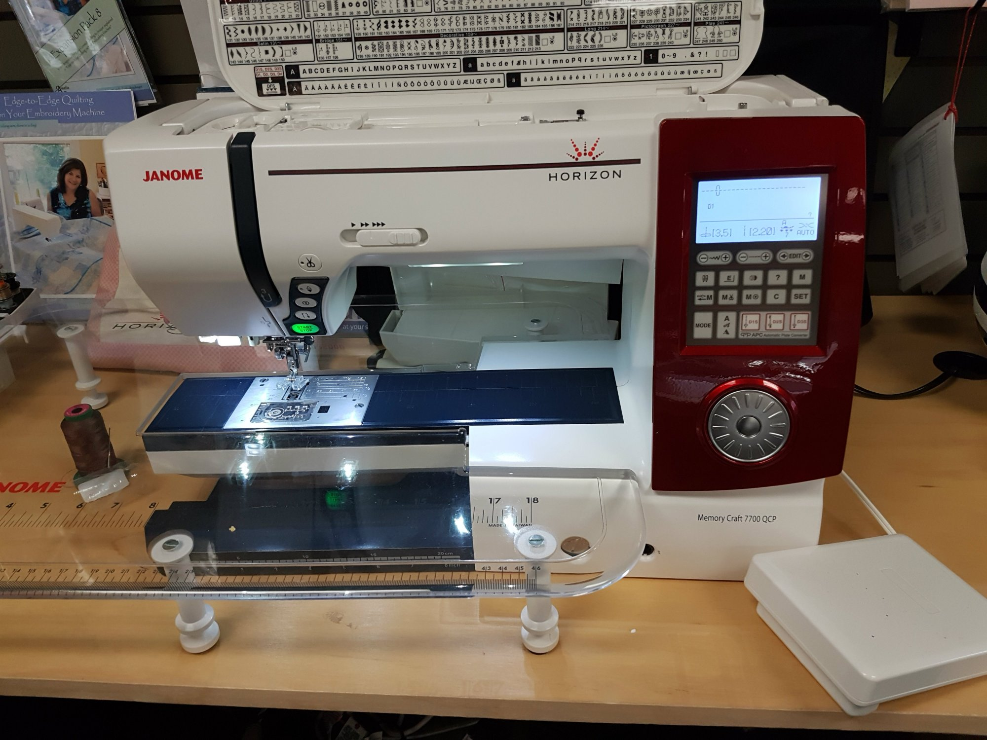 Janome MFC 7700 QCP (trade in)