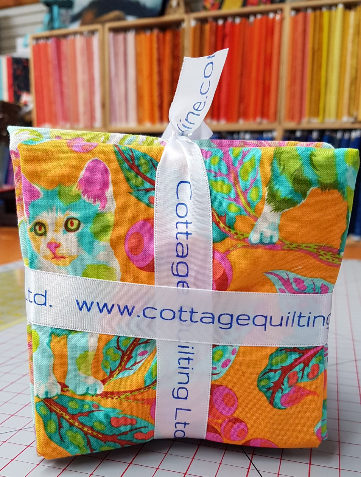 Tabby Cat - By Tula Pink - Fat quarter bundle (15)