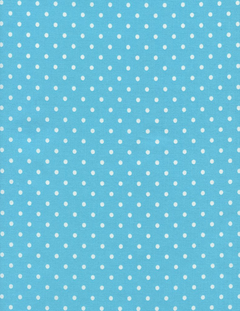 Polka Dot Flannel CF 1820 Aqua