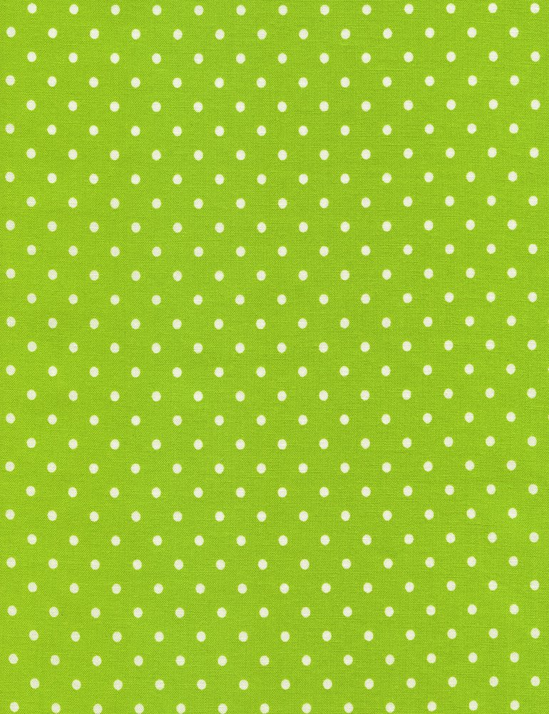 Polka Dot Flannel CF 1820 Lime