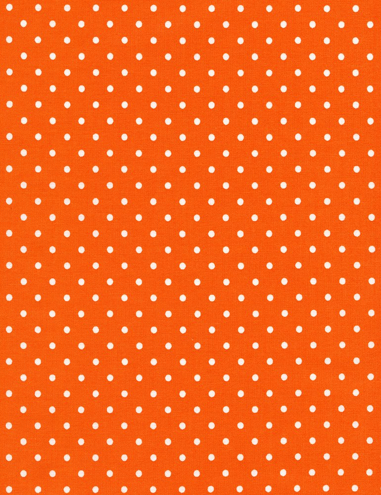 Polka Dot Flannel CF 1820 Orange
