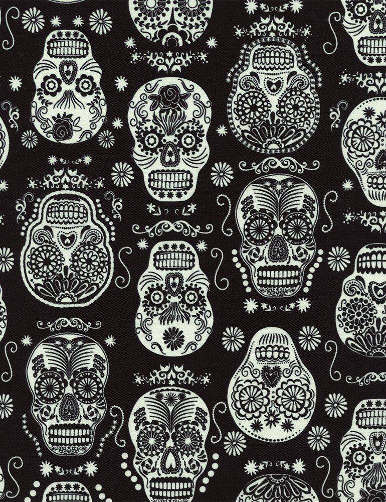 Wicked Night Glow in the Dark Skulls Folklore