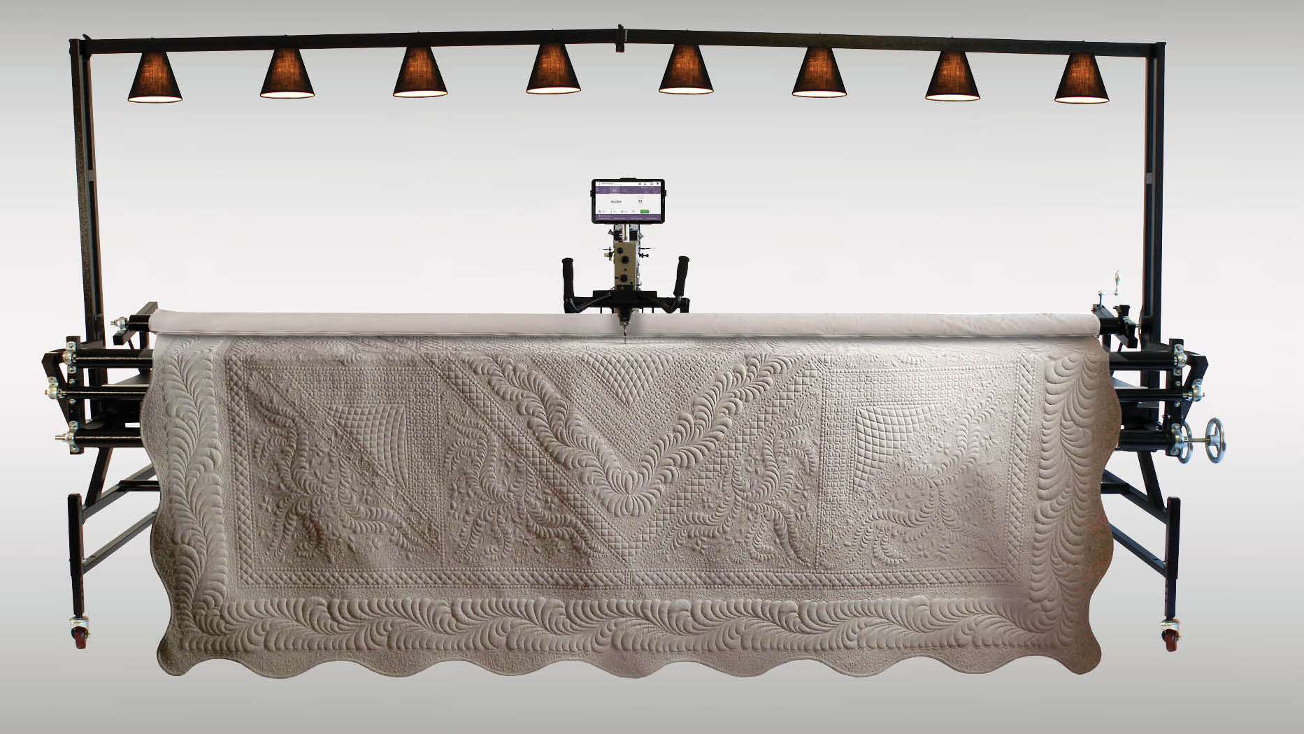 Gammill Vision 2.0 Hand-Guided Quilting System