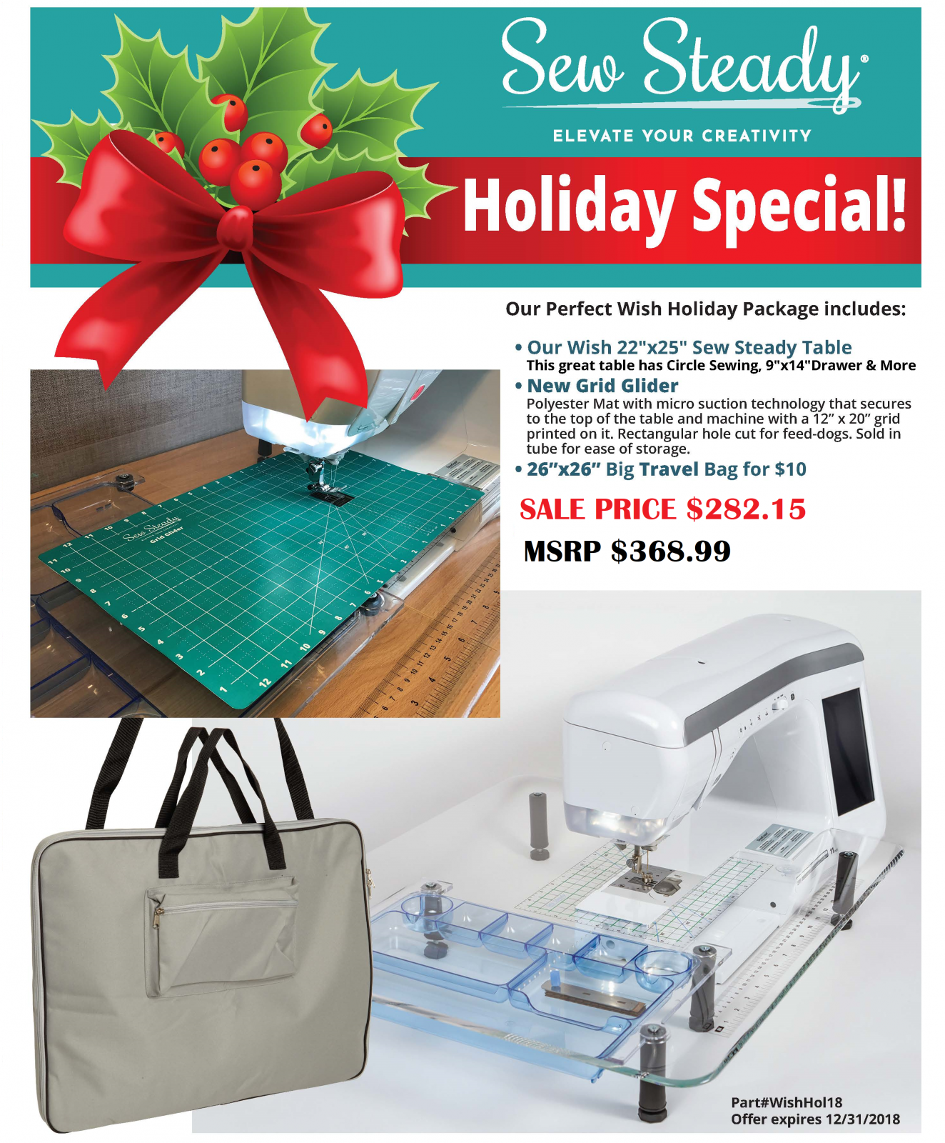 Sew Steady - Wish Holiday Accessory Package