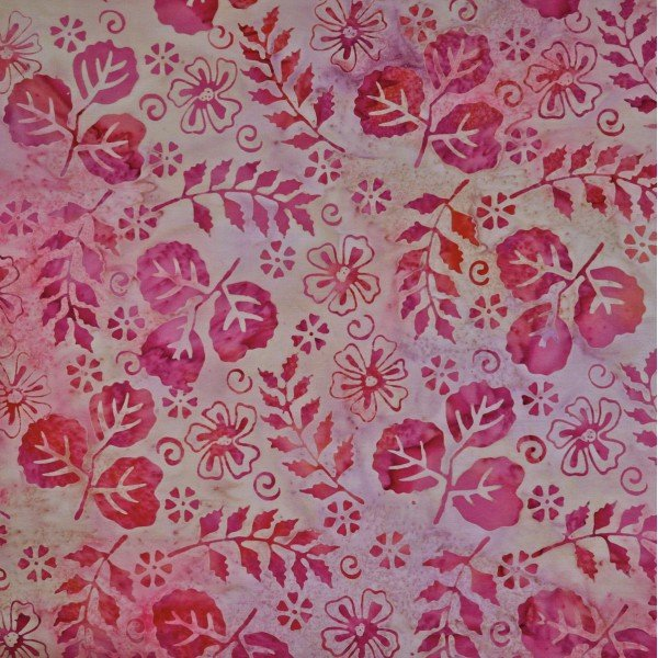 Winter Rose Batik - Sea Thrift
