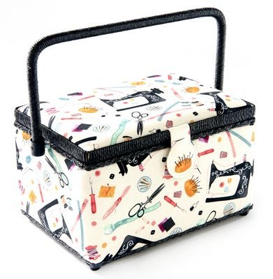 Sewing Basket Medium Rectangle