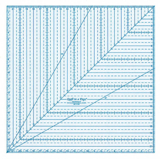 22 square up ruler Quilt in a day