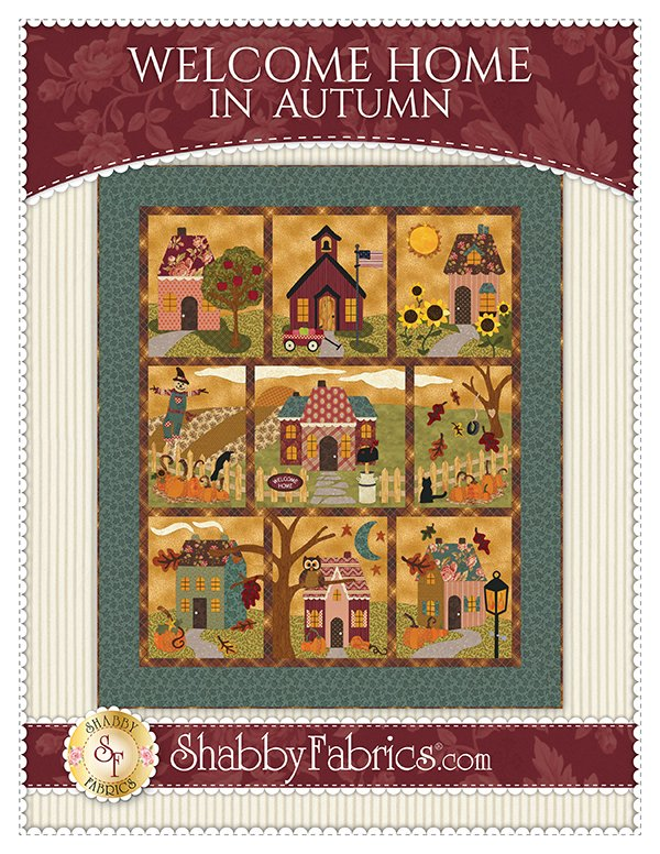 Shabby Fabrics - Welcome Home In Autumn