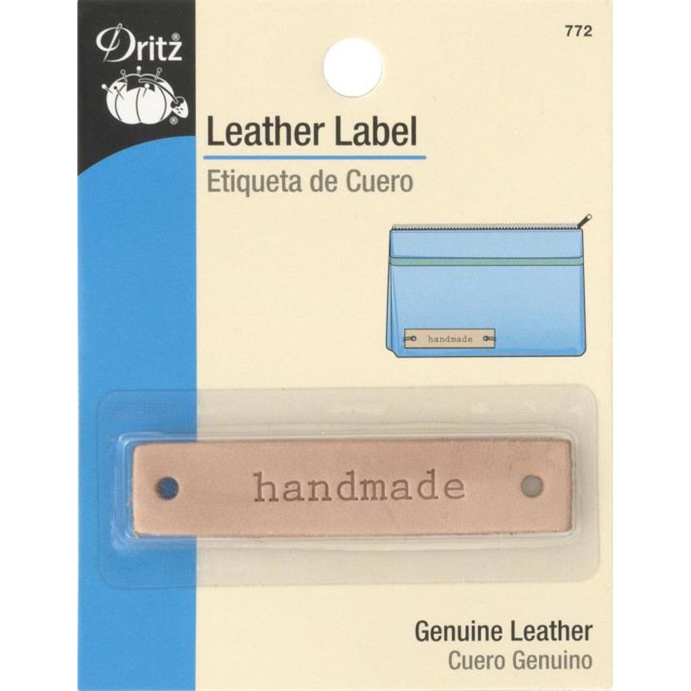 Dritz Leather Label 772- Handmade