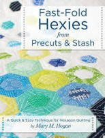 Fast fold hexies from pre cuts & stash