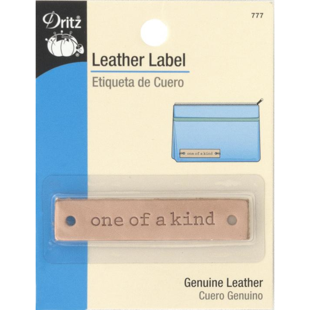 Dritz Leather Label 777- One of a Kind