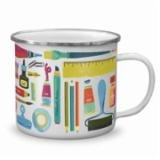 Enamel Mug Art Lover
