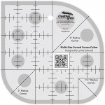 Creative Grids Non-Slip CGRCCC - Multi Size Curved Corner Cutter