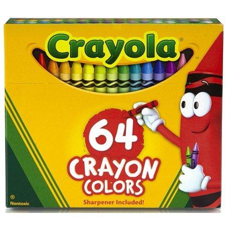 Crayola bonus 64 crayons