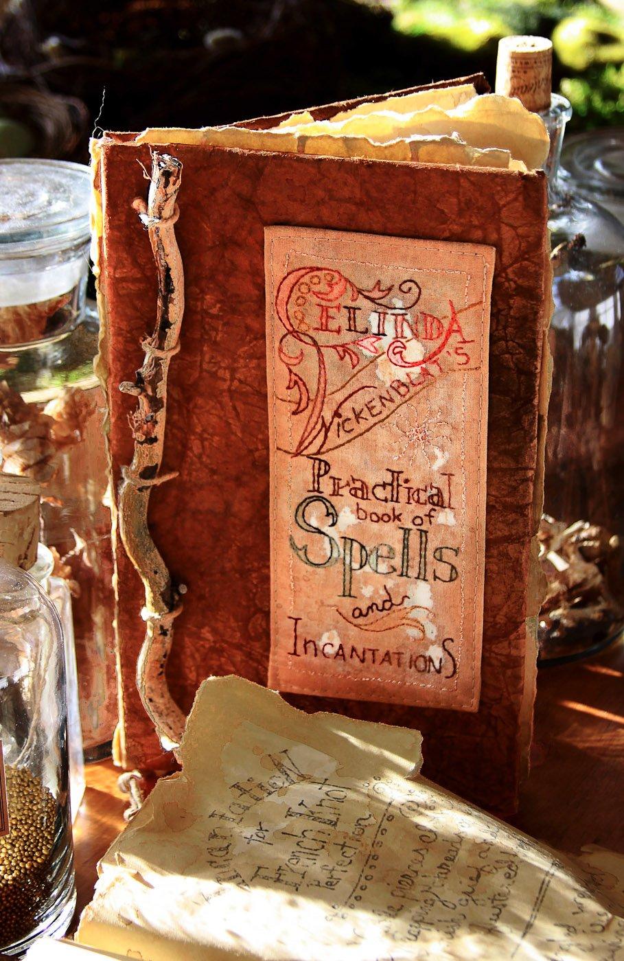 Celinda Wickenblat's spellbook