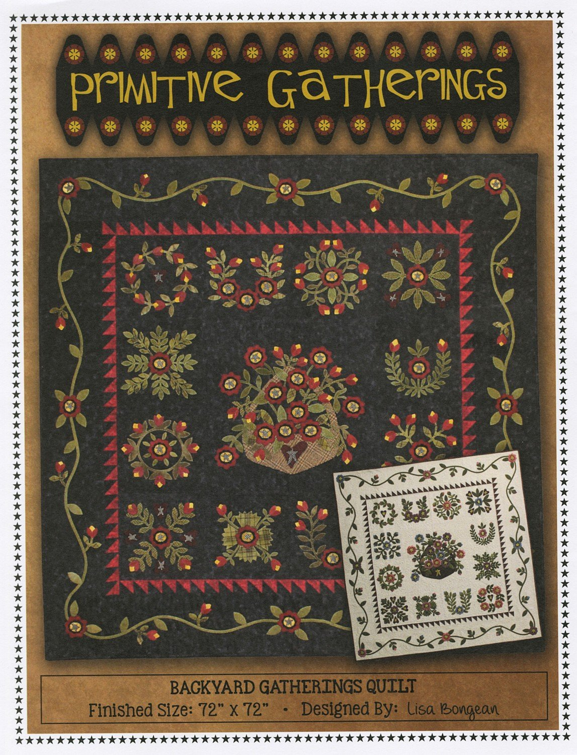 Backyard gatherings quilt