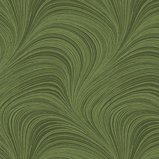 108 Wide Benartex Wave Texture 2966W 43 Medium Green