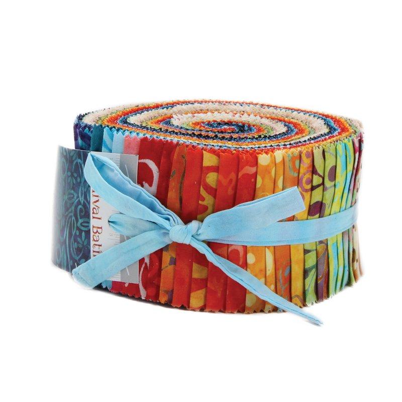 Moda Carnival Batiks Jelly Roll® 4348JR