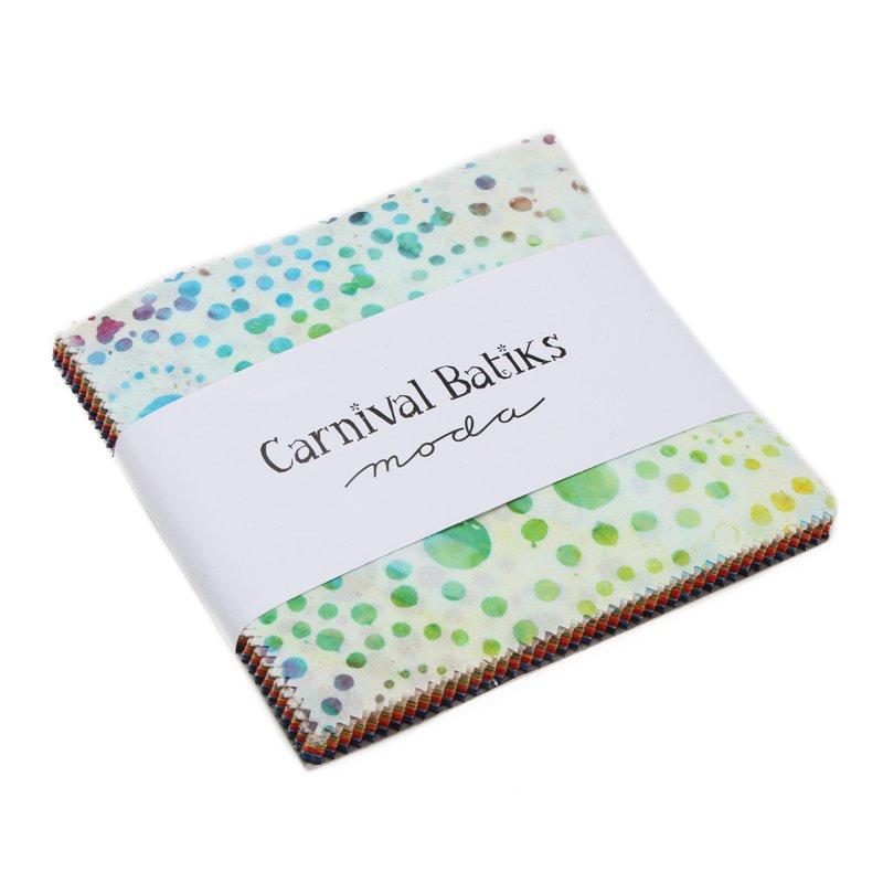 Moda Carnival Batiks Charm Pack 4348PP