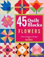 Flowers 45 Quilt Blocks