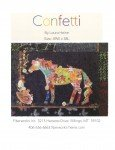 Confetti the Horse Collage by Laura Heine