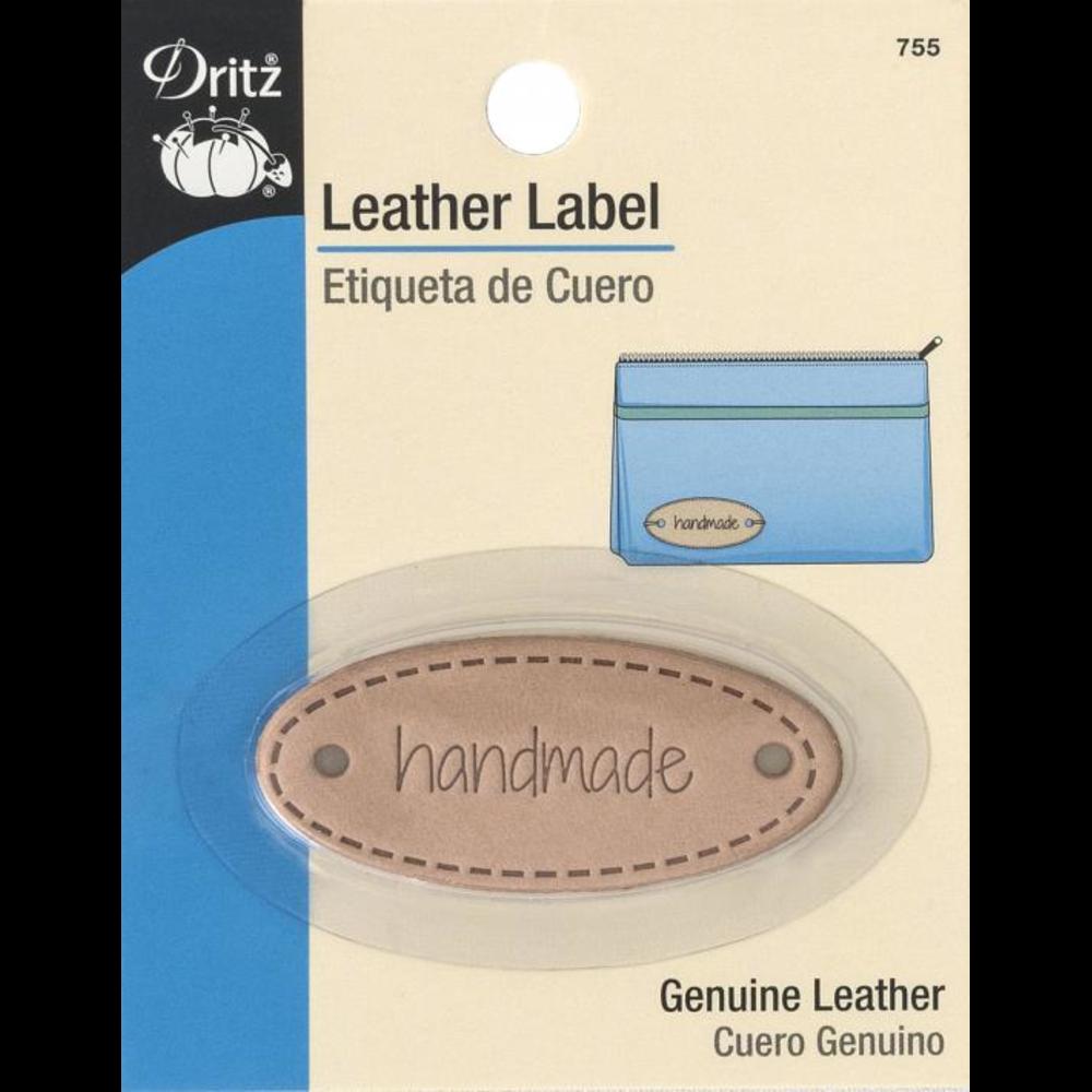 Dritz Leather Label 755 Handmade