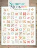 It's Sew Emma - Summer Moon Block of the Month by Carrie Nelson
