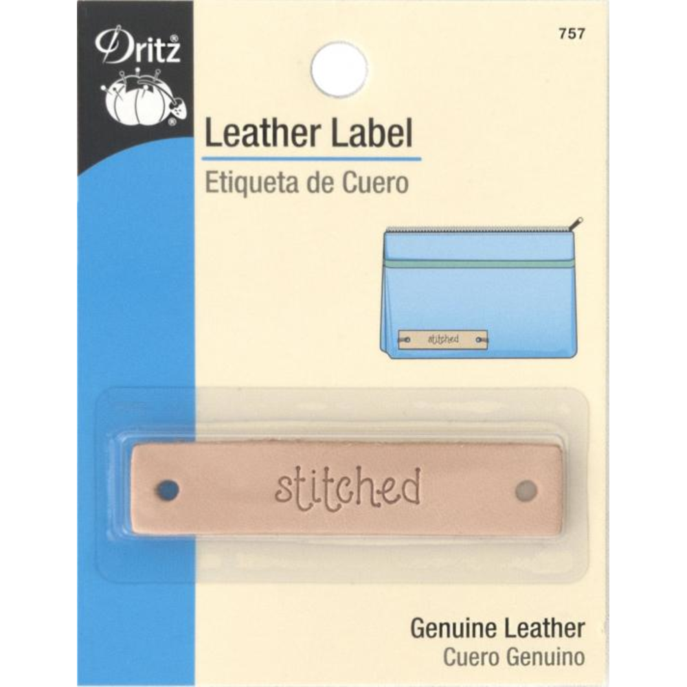 Dritz Leather Label 757- Stitched