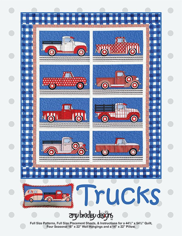 Amy Bradley Designs - Trucks