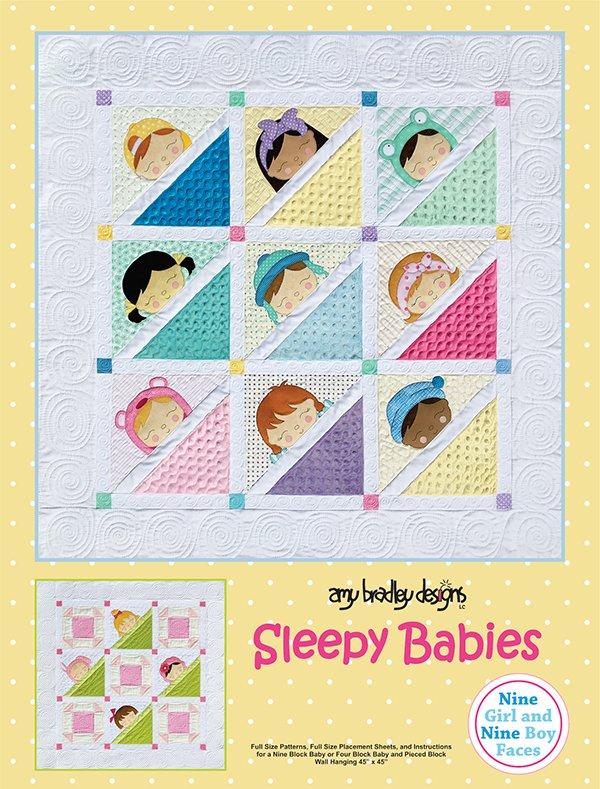 Amy Bradley Designs - Sleepy Babies Quilt Pattern