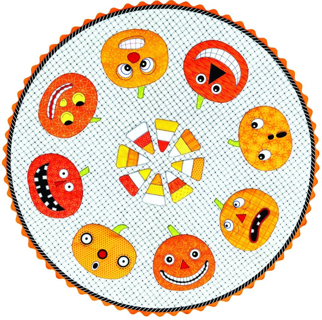 Amy Bradley Design's Pumpkins - Buttons Included