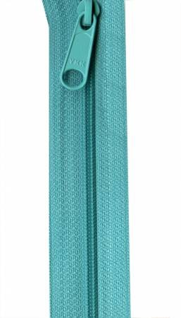 Annie's Purse Parts Handbag Zipper 24 Turquoise