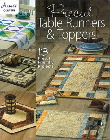Annie's Quilting Precut Table Runners & Toppers - Made in USA
