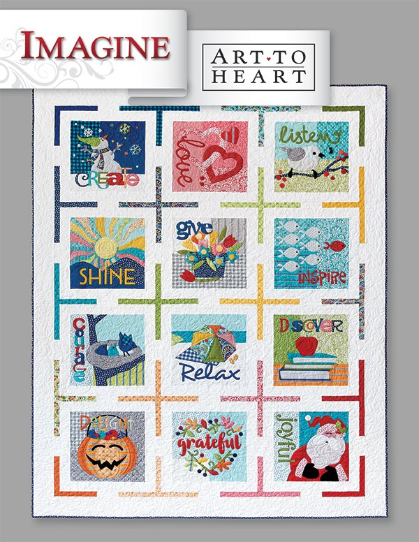 Art to Heart Imagine by Nancy Halvorsen