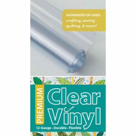 CT Publishing Premium Clear Vinyl 16 x 1.5 Yards