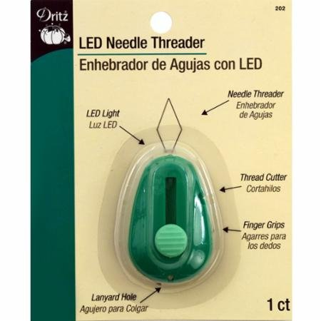Dritz Needle Threader with LED Light