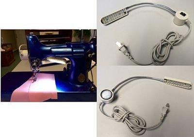 Singer Sewing Machine Magnetic LED Bendable Lamp 110V
