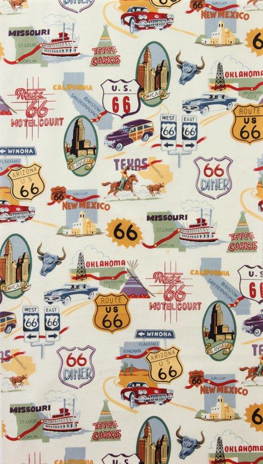 Alexander Henry Fabrics Route 66 1585AR