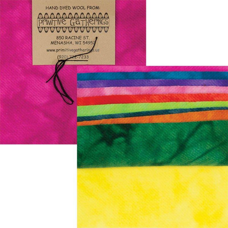 Primitive Gatherings Hand Dyed Wool Brights #1 PRI-6022