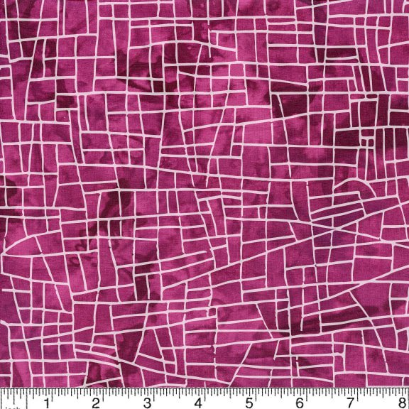 2020 Road to Oklahoma Shop Hop - Island Batik SH93-350 Plum
