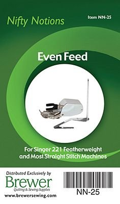 Singer 221 Featherweight Low Shank Even Feed Foot with Guide (Low Shank) NN-25