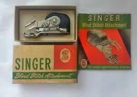 Vintage Singer 221 Featherweight Low Shank Blind Stitch Attachment 160616