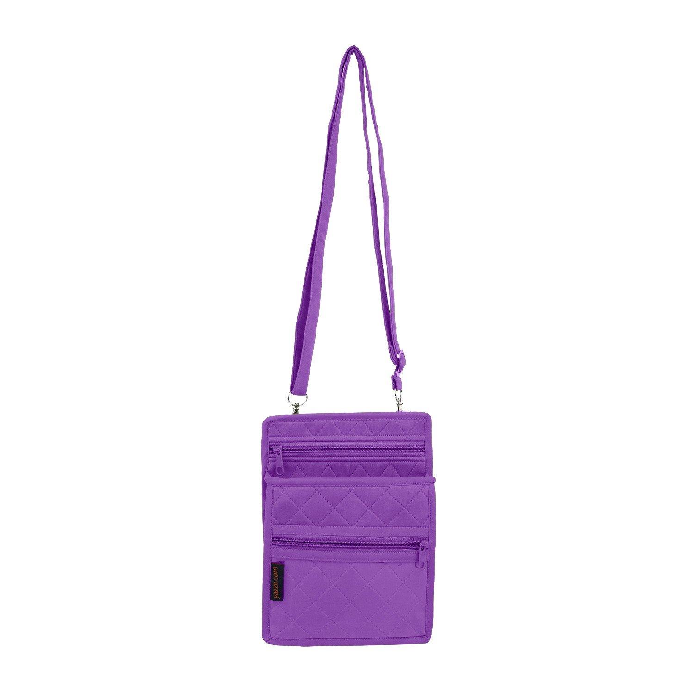 Yazzii Accessory & ID Pouch Purple - 6 x 9