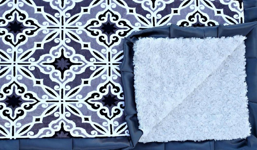 Mosaic Silver-Silver-Charcoal