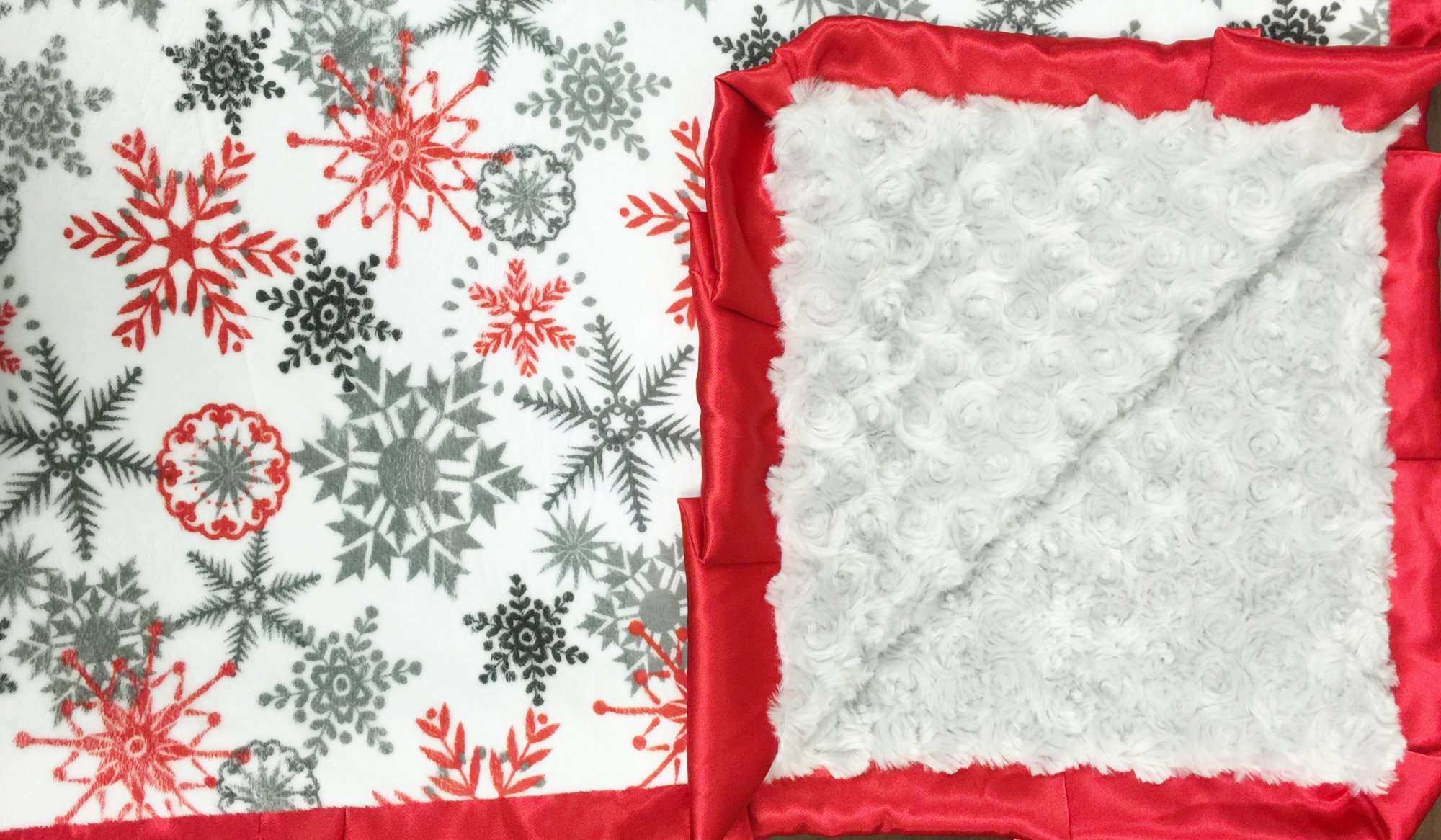 Frosty Flakes-Silver-Red
