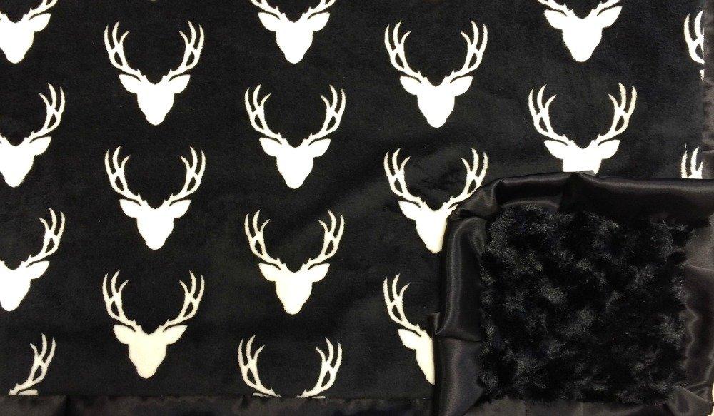 Oh Deer Black-Black-Black