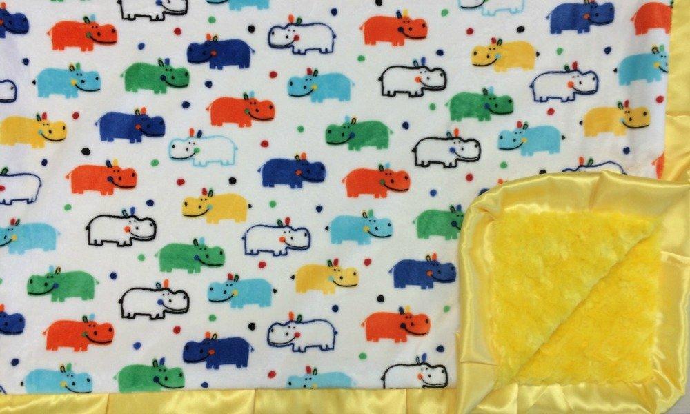 Happy Hippo Multi-Yellow-Yellow