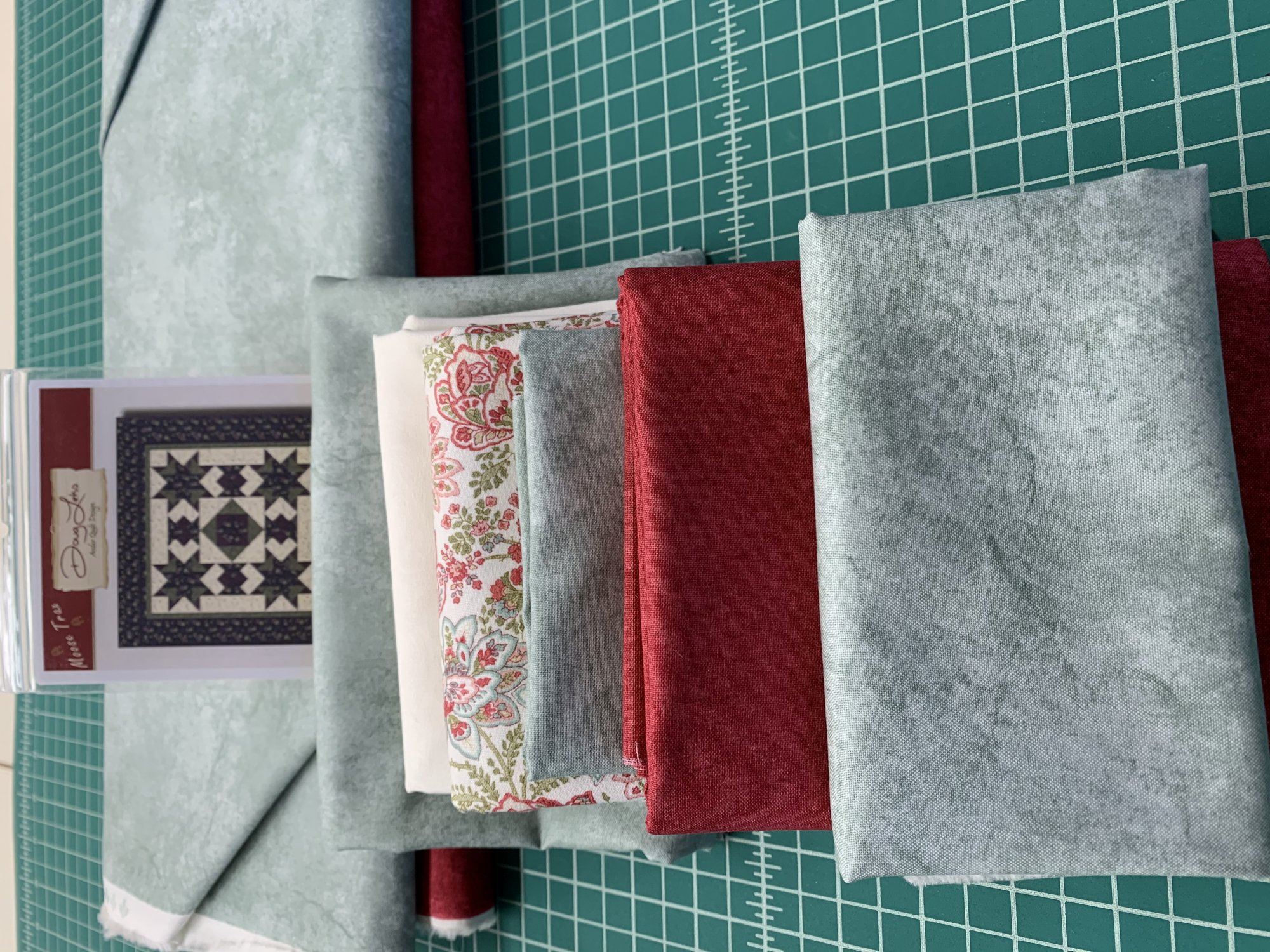 Skipped Stones Kit #7   *Backing & Binding Included *