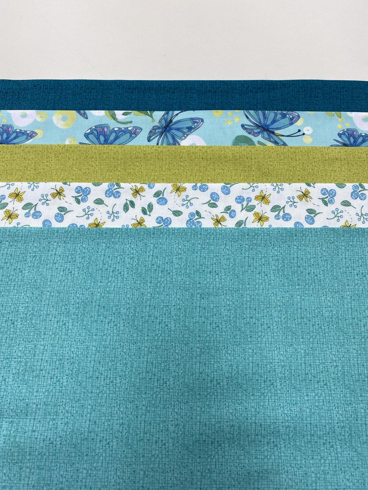 Cottage Bleu (5) Half Yard Cuts by Robin Pickens for Moda