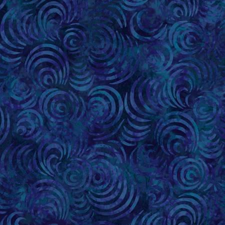 Dark Blue Whirlpools 108 in Wide Back